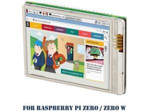 Raspberry Pi Zero W Screen, iUniker 2.8-inch 60+ fps 640x480 High Resolution Raspberry Pi Zero Touchscreen HD Raspberry Pi Screen High Speed Pi Display Shield For Raspberry Pi Zero Raspberry Pi Zero W