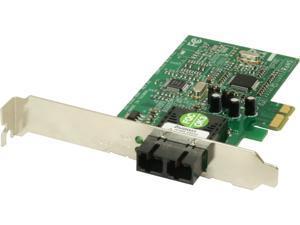 Transition Networks N-FXE-SC-02 Networks Fiber Optic Card - PCI Express x1-1 Port(s) - 1 x SC Port(s) - Low-Profile
