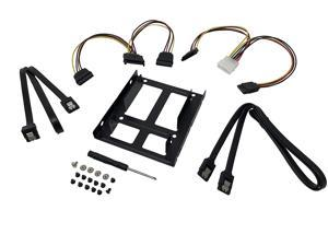 MICRO CONNECTORS 2.5  SSD/Hard Drive Installation Kit with SATA Data and Power Cables (L02-35252-KIT)