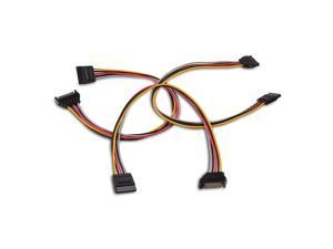 StarTech 6in PS2 Keyboard Mouse Splitter Cable Adapter