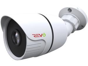 REVO America Aero HD 1080p Indoor/Outdoor IR Bullet Camera with 3.6mm Fixed Lens - 60' BNC Cable Included