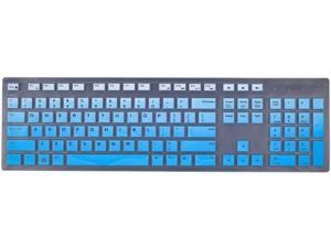 Keyboard Cover Skins Compatible with Dell KB216 Wired Keyboard & Dell KM636 Wireless Keyboard & Dell Optiplex 5250 3050 3240 5460 7450 7050 & Dell Inspiron AIO 3475/3670/3477 All-in one Desktop