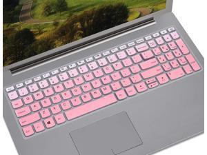 Keyboard Cover Compatible with Lenovo Ideapad S145 S340 L340 130 320 330 330s 340s 520 720s 15.6 inch/2019 Lenovo IdeaPad 15.6 inch/Lenovo V330 V130 15.6 inch/IdeaPad 320 330 17.3 inch, Gradual Blue