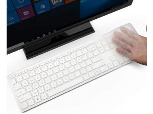 Keyboard Cover for HP Pavilion 27 All in One PC, HP Pavilion 27-xa0014/27 Xa0055Ng/0370Nd/0076Hk/0010Na, HP Pavilion 24-inch 24-xa0020 Xa0002A Xa0032 xa0013w, HP Pavilion All in One Accessories, Clear