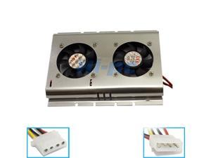 New SATA IDE 3.5 Hard Disk Drive HDD Fan Cooler for PC