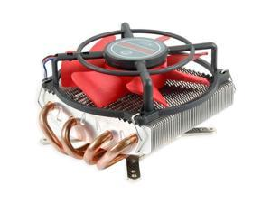 """E-buy World"" New Evercool HPKC-10025 Heatpipe Low Profile Cooler Fan i5 LGA1155 1156 AM2 AM3 FM1"