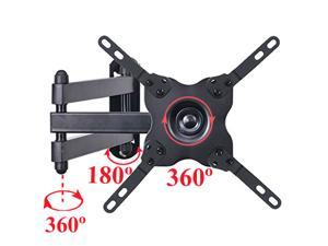 """VideoSecu Tilt Swivel Rotate TV Monitor Wall Mount for VIZIO most 19 22 23 24 26 28 29 32 37 39"""" LCD LED HDTV, Articulating Arm Full Motion Bracket with VESA 200x200/ 100x100mm WS2"""