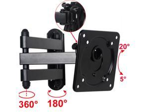 Universal Full-Motion Plus Wall Mount Mounting Kit 200 X 200 Mm Articulating Arm, Adapter Plate, Hook Bracket Peerless Tilt /& Swivel 75 X 75 Mm High-Gloss Black Screen Size: 22 40 Mounting Interface: 100 X 100 Mm 200 X For Lcd // Plasma Panel