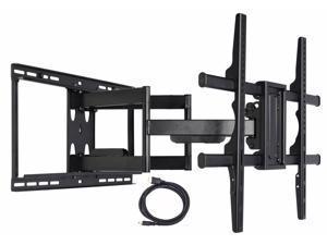 "VideoSecu Heavy Duty Full Motion Tilt Swivel Extend TV Wall Mount for most 40-88"" Sony Samsung LG Panasonic Vizio Sharp LCD LED Plasma HDTV with VESA 684x400/ 600x400mm/ 400x400, loading 135lbs bn5"