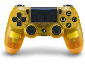 Sony DualShock 4 Crystal Yellow Wireless Controller - Death Stranding Limited Edition - For PlayStation 4 (Game is not included)