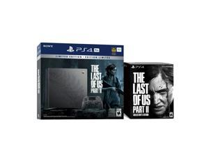 PlayStation 4 Pro Limited Edition The Last of Us Part 2 Bundle with the Collector's Edition - PS4 Pro 1TB Limited Console, Controller, and The Last of Us Part II Collector's Edition