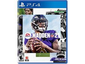 PlayStation 4 Pro 1TB Console with Madden NFL 21 - PS4 Pro 1TB Jet Black 4K HDR Gaming Console, Wireless Controller and Game