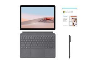 "Microsoft Surface Go 2 10.5"" (1920 x 1280) Touchscreen Tablet, Intel Core 8th Gen M3, 8GB RAM, 128GB SSD, Webcam, WiFi 6, USB-C, BT 5, Win 10 w/ Type Cover, Mytrix Digital Pen, Microsoft 365-Platinum"