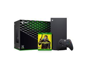 2021 Xbox Bundle - 1TB SSD Black Xbox Console and Wireless Controller with Cyberpunk 2077