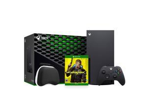 2020 Newest X Gaming Console Bundle - 1TB SSD Black Xbox Console and Wireless Controller with Cyberpunk 2077 and Xbox Controller Protective Hard Shell Case