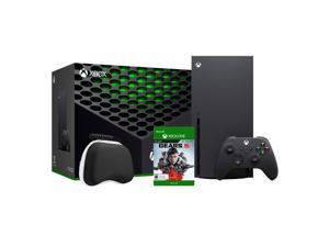 2020 Newest X Gaming Console Bundle - 1TB SSD Black Xbox Console and Wireless Controller with Gears 5 Full Game and Xbox Controller Protective Hard Shell Case