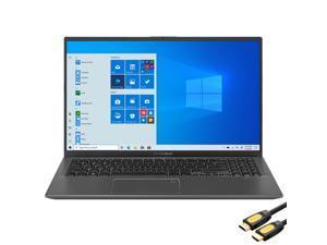 "ASUS VivoBook 15.6"" FHD Touchscreen Laptop, 1080p NanoEdge, Inetl Core i3-1005G1 Dual-Core, 4GB RAM, 128GB SSD, USB-C, FP Reader, WebCam, Mytrix HDMI Cable, Win 10 S"