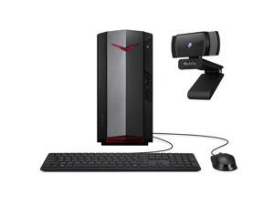 Acer Nitro N50 1650 Gaming Desktop PC Intel Core i5-10400 Hexa-Core, GTX 1650 HDMI/DVI, 8GB RAM, 256GB SSD, Wi-Fi 6, Ethernet, Mytrix Webcam, Win 10