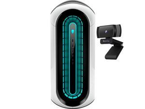 Alienware Aurora R12 Gaming Desktop Lunar Light, Intel 11th Gen 8-Core i7-11700F, GeForce RTX 3070 8GB, 32GB RAM, 1TB PCIe SSD+2TB HDD, USB-C, RJ-45, HDMI/DP, Wi-Fi 6, Mytrix Webcam, Win10