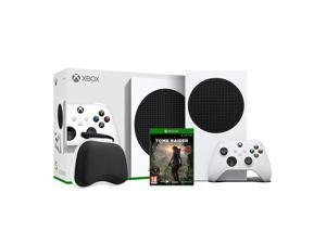 2020 New Xbox All Digital 512GB SSD Console - White Xbox Console and Wireless Controller with Tomb Raider: Definitive Edition Full Game and Black Controller Protective Case