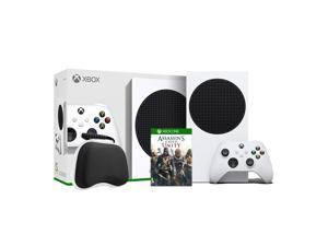 2020 New Xbox All Digital 512GB SSD Console - White Xbox Console and Wireless Controller with Assassin's Creed Unity Full Game and Black Controller Protective Case