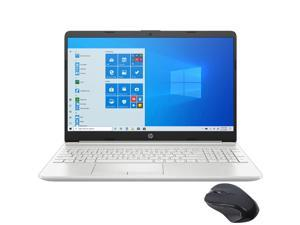 """HP 15.6"""" FHD Micro-Edge Laptop, Intel Core i3-1115G4 up to 4.1GHz, 16GB DDR4 RAM, 512GB PCIe SSD, USB-C, HDMI, Ethernet, FingerPrint, SD Reader, Wi-Fi, HP Fast Charge, Myrtix Wireless Mouse, Win 10"""