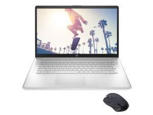 "HP 17.3"" HD+ Touchscreen Laptop, AMD Ryzen 5 5500U (beat i5-10500) 6-Core up to 4.0GHz, 16GB RAM, 512GB SSD+1TB HDD, USB-C, Numeric Keypad, HDMI, Webcam, WiFi, Myrtix Wireless Mouse, Win 10"