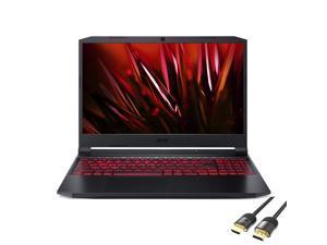 "Acer Nitro 5 Gaming Laptop, 15.6"" FHD IPS 144Hz, AMD 8-Core Ryzen 7 5800H, GeForce RTX 3050 Ti, 16GB RAM, 512GB SSD+1TB HDD, USB-C, HDMI, Wi-Fi 6, RJ-45, Backlit, Mytrix HDMI Cable, Win 10"