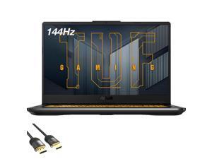 ASUS TUF Gaming F17 Laptop, 17.3'' FHD 144Hz Display, Intel Hexa-Core i5-11260H, GeForce RTX 3050 Ti, 32GB RAM, 1TB PCIe SSD, Thunderbolt 4, HDMI, Wi-Fi 6, RJ-45, RGB, Mytrix HDMI 2.1 Cable, Win 10