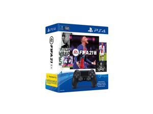 Sony Playstation 4 DualShock 4 Controller With FIFA 21, Black