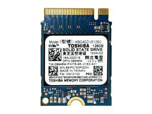Toshiba KBG40ZNS128G BG3 Series 128gb TLC PCI Express 3.0 X2 NVMe M.2 2230 SSD HD - OEM