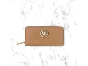 Michael Kors Fulton ZA Continental Leather Wallet 35T5GFTZ3L Suntan