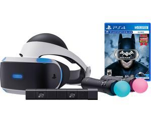 PlayStation VR Batman Starter Bundle (4 items): VR Headset, 2 Move Motion Controllers, PlayStation Camera, Batman: Arkham VR Game Disc