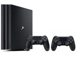 PS4 Pro 1TB Console and an Extra PS4 Dualshock 4 Wireless Controller - Jet Black