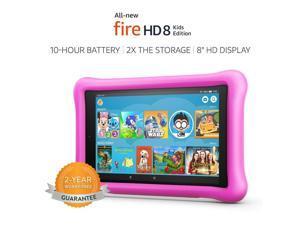 "All-New Fire HD 8 Kids Edition 8th GenTablet,8"" HD Display, 32 GB Pink"