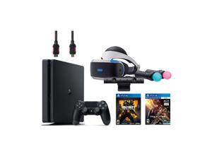 PlayStation VR Start Bundle 5 Items:VR Headset,Move Controller,PlayStation Camera Motion Sensor,PlayStation 4 Call of Duty Black Ops IIII,VR Game Disc PSVR EVE-Valkyrie
