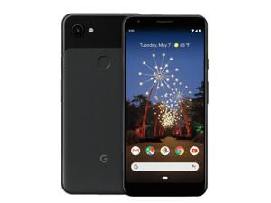 "2019 Google Pixel 3a XL 64GB LTE Cell Phone (Unlocked) Just Black - 6"" Full HD+ (2160 x 1080) OLED 12.2MP camera Qualcomm Snapdragon 670 Android 9.0 Pie OS (Free unlimited Google Picture storage)"