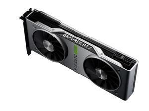 NVIDIA GeForce RTX 2070 SUPER Founders Edition - 8GB GDDR6 1770 MHz RAM - 2560 Cores - Ray Tracing - DirectX 12 - DP/HDMI/DVI-DL - VR Ready