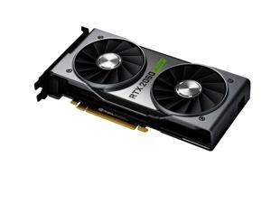 NVIDIA GeForce RTX 2060 SUPER Founders Edition - 8GB GDDR6 1650 MHz - 2176 Cores - Ray Tracing - DirectX 12 - DP/HDMI/DVI-DL - VR Ready
