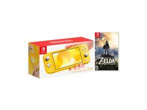 2019 New Nintendo Switch Lite Yellow Bundle with The Legend of Zelda: Breath of the Wild Game Disc - 2019 Best Game!