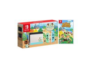 2020 New Nintendo Switch Animal Crossing: New Horizons Edition Bundle with  Animal Crossing: New Horizons NS Game Disc - 2020 New Limited Console & Best Game!