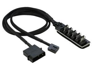 molex to 3 pin fan adapter - Newegg com