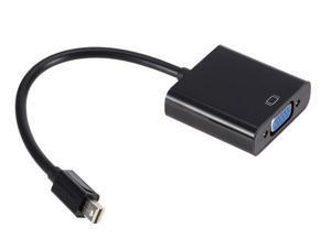 RIITOP Mini DisplayPort to VGA Adapter Converter Cable HD 1080p Mini Display Port DP Male to VGA Female Adaptor for Macbook Air Pro iMac (Thunderbolt 1,2 Compatible)
