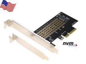 RIITOP NVMe PCIe Adapter PCI-e 3.0 x4 to M Key M.2 NVMe AHCI SSD Converter Card for 2280 2260 2242 2230 mm SSD Drive