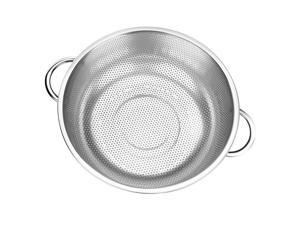 Stainless Steel Vegetable Drain Basket Adjustable 16.5cm