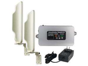 Stealth X2 65dB 2-Band 3G 4G LTE Cellular Booster Kit