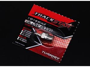 TrackStar 1/10~1/8 Scale Turbo Glow Plug No.3 (HOT) Turbo Plug for Nitro Engine