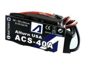 ACS-40A+HS - Brushless Motor Control w/ Heat Sink for Airplane & Helicoter