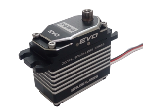 EVO-P4WG -Patent Worm Gear Brushless servo- Ultra High Torque/ Power Save 35% up