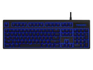 Tesoro Excalibur G7NL V2  TS-G7NL-V2 Blue Mechanical Switch Blue LED Backlit Illuminated Mechanical Gaming Keyboard (New Version)